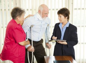 Consult an attorney about a personal injury case